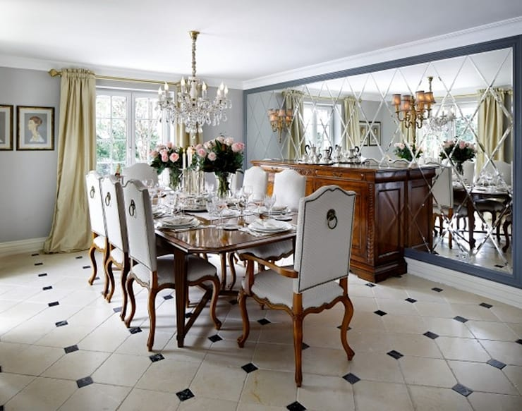 Dining room: classic Dining room by ARKITEX INTERIORS
