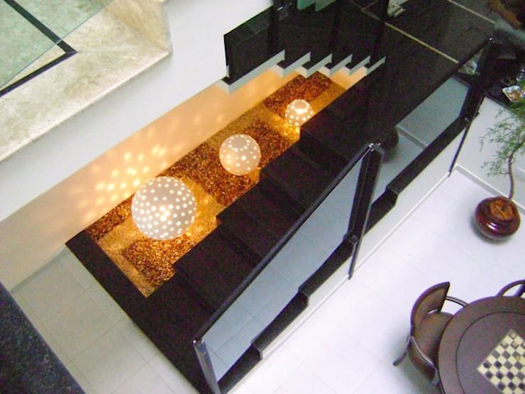 بيت زجاجي تنفيذ MC3 Arquitetura . Paisagismo . Interiores