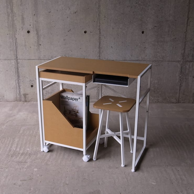 XS – DesK: abode Co., Ltd.が手掛けた勉強部屋/オフィスです。