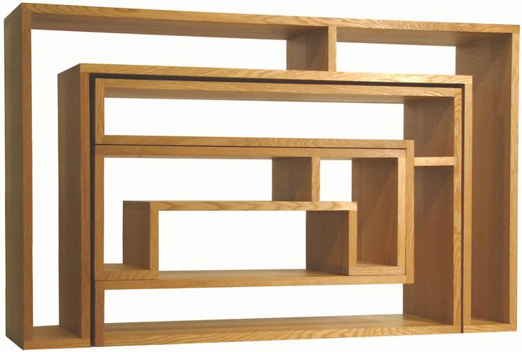 SHOJI - SET A: abode Co., Ltd.が手掛けたリビングルームです。