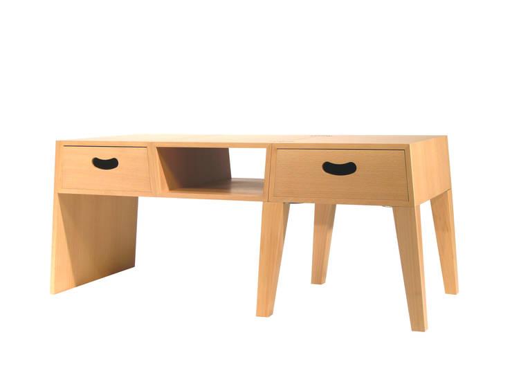 TABLE = CHEST: abode Co., Ltd.が手掛けたリビングルームです。,