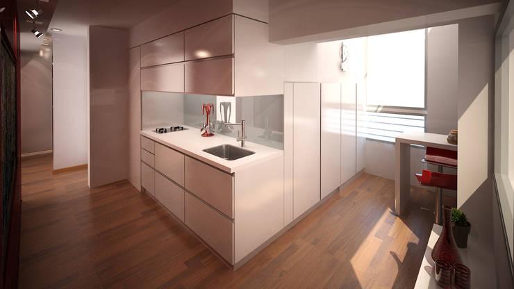 廚房 by ARQUITECTURA EN IMÁGENES, 簡約風