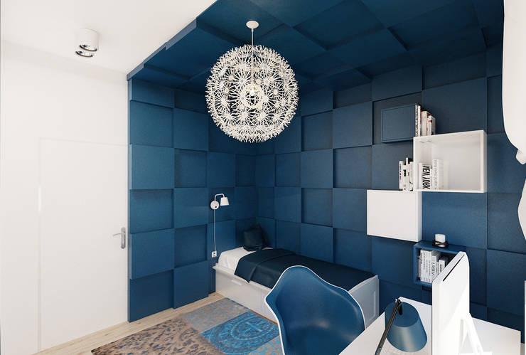 Pokój nastolatki : styl , w kategorii Pokój dziecięcy zaprojektowany przez Ale design Grzegorz Grzywacz,Nowoczesny