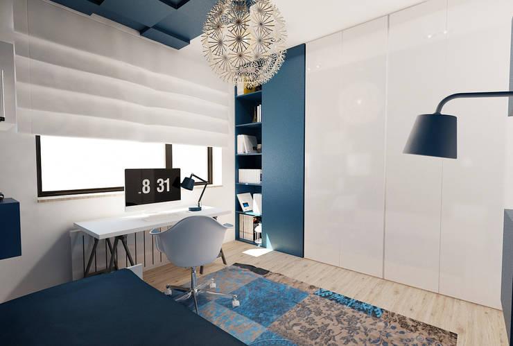 Pokój nastolatki : styl , w kategorii Pokój dziecięcy zaprojektowany przez Ale design Grzegorz Grzywacz,Skandynawski