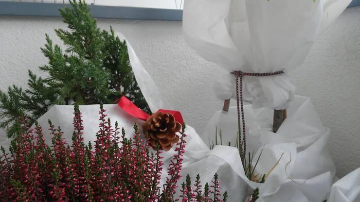 zima na loggi: styl , w kategorii Taras zaprojektowany przez ARCHITEKTONIA Studio Architektury Krajobrazu Agnieszka Szamocka -Niemas,Klasyczny