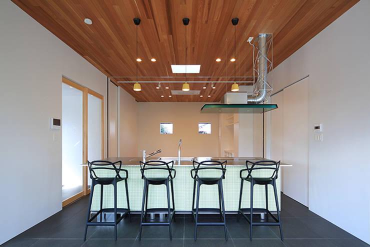 House-MSD【 White Rainbow -白虹- 】: bound-designが手掛けたキッチンです。,