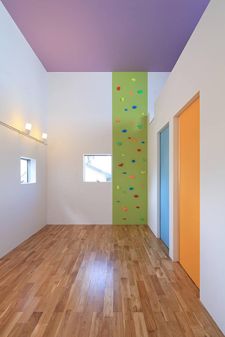House-MSD【 White Rainbow -白虹- 】: bound-designが手掛けた子供部屋です。,