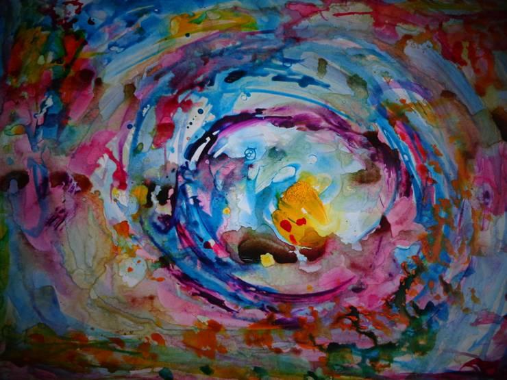 Arte abstracto y multicolor: Arte de estilo  por Adriana Filei
