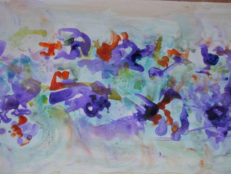 Abstracto de flores: Arte de estilo  por Adriana Filei
