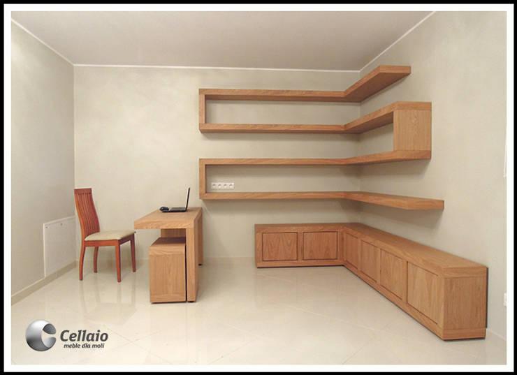 Meble do biura: styl , w kategorii  zaprojektowany przez Cellaio,Nowoczesny