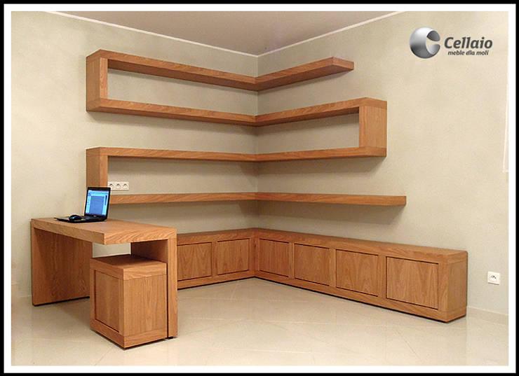 Meble do gabinetu: styl , w kategorii  zaprojektowany przez Cellaio,Klasyczny