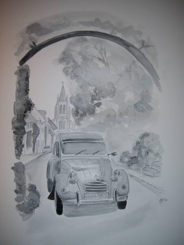 Citroen gris: Arte de estilo  por Adriana Filei