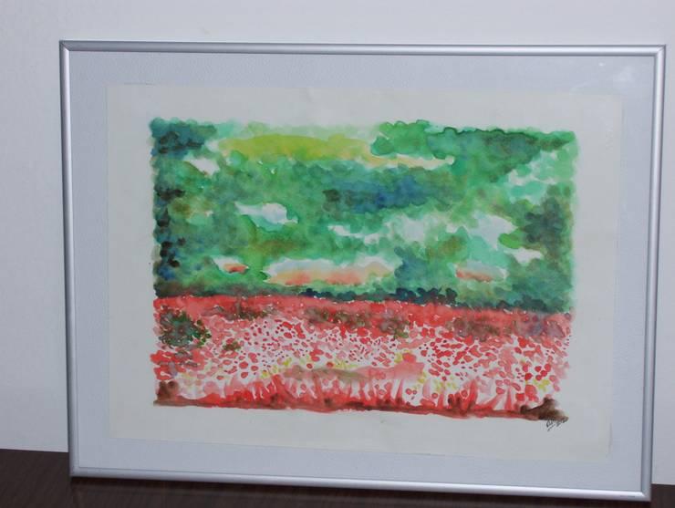 Flores en acuarela: Arte de estilo  por Adriana Filei