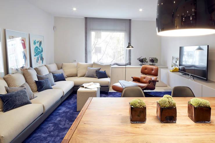 Salas de estilo  por Molins Design