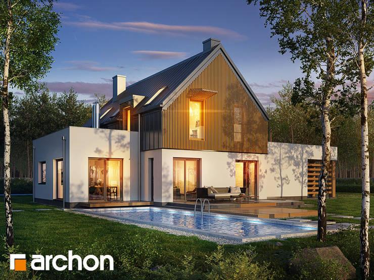 Projekt: Dom w batatach: styl , w kategorii  zaprojektowany przez ARCHON+ PROJEKTY DOMÓW