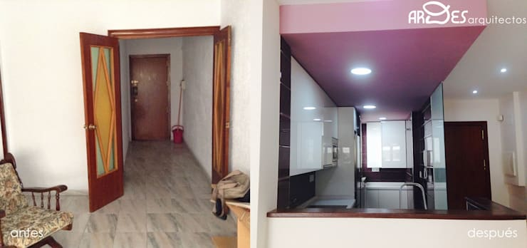 Corridor & hallway by Ardes Arquitectos