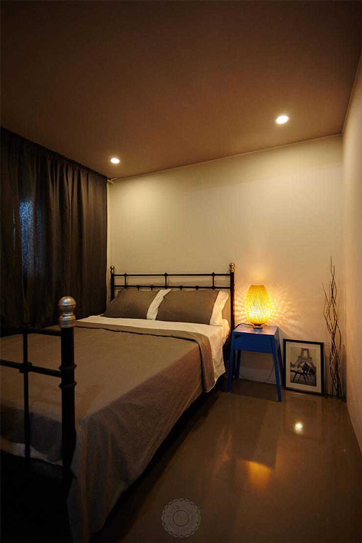 부부침실: 제이앤예림design의  침실