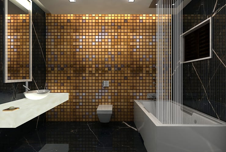 Bathroom by De Panache  - Interior Architects