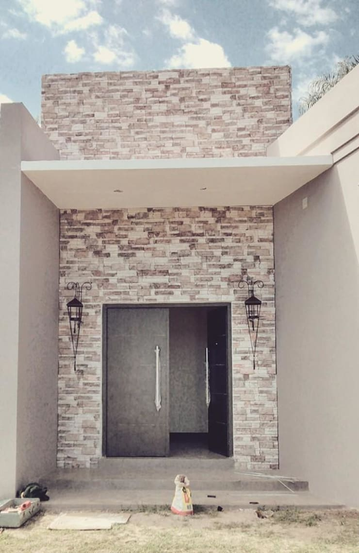 Obras: Casas de estilo  por Agus Garay diseño & Arq