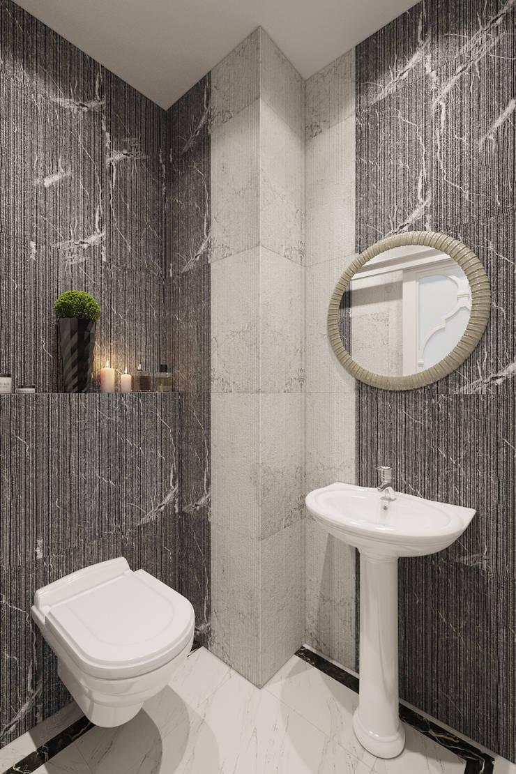Baños de estilo clásico de Студия дизайна интерьера Маши Марченко Clásico