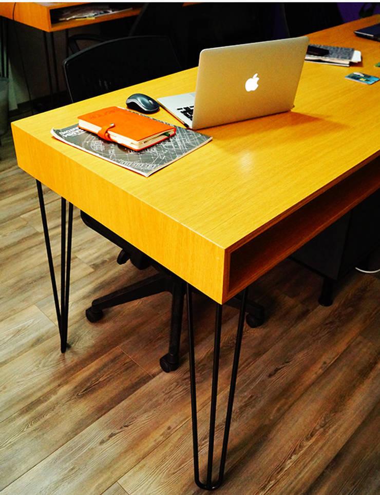 MAHAL MİMARLIK / MAHAL ARCHITECTS – çalışma masası:  tarz Ofis Alanları & Mağazalar