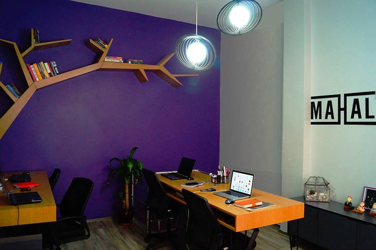 MAHAL MİMARLIK / MAHAL ARCHITECTS – ofis genel:  tarz Ofis Alanları & Mağazalar