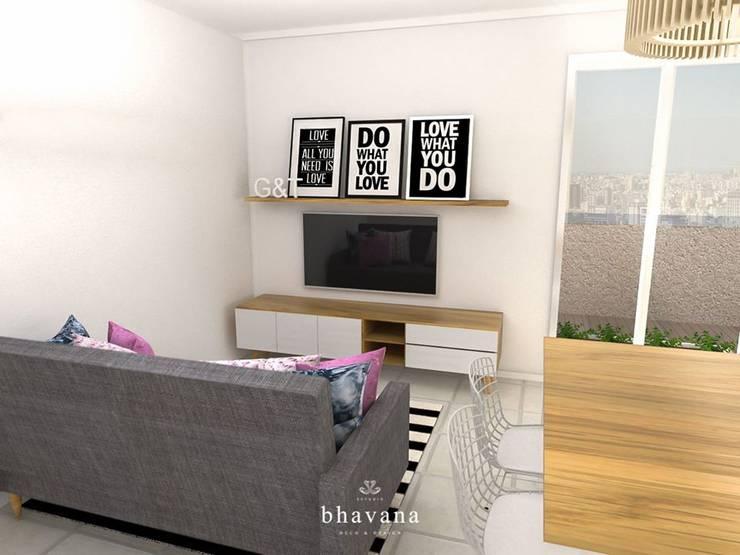 غرفة المعيشة تنفيذ Bhavana