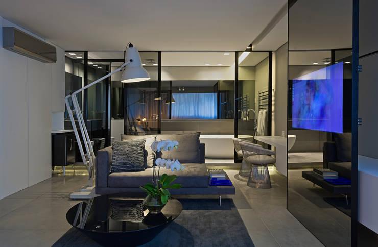 Suíte Presidencial   Mercure Vila da Serra - Belo Horizonte: Hotéis  por Piacesi Arquitetos