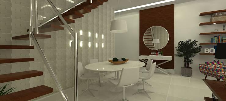 Sal de jantar: Salas de jantar  por L N arquitetos