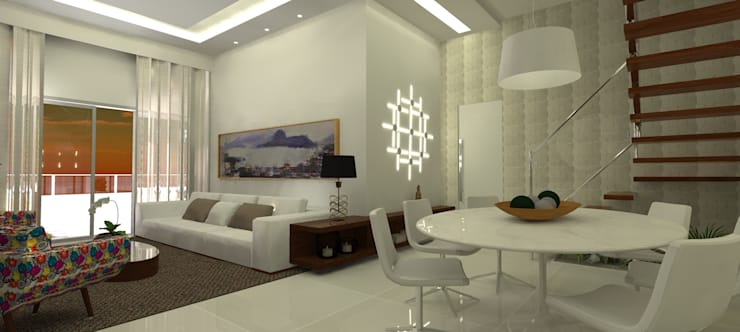 Sala: Salas de estar  por L N arquitetos