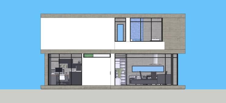 Render Moderm House:  de estilo  por Atahualpa 3D