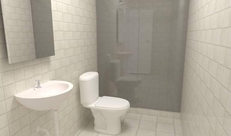 Baños: Baños de estilo  por Atahualpa 3D