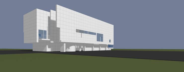 Casa Moderna 3  - Antes:  de estilo  por Atahualpa 3D