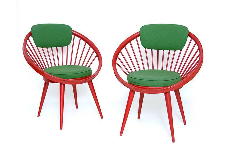 Circle chair: styl , w kategorii Salon zaprojektowany przez Simply Modern