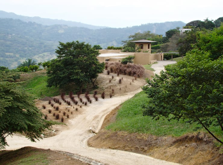 Casas de estilo rural por David Macias Arquitectura & Urbanismo