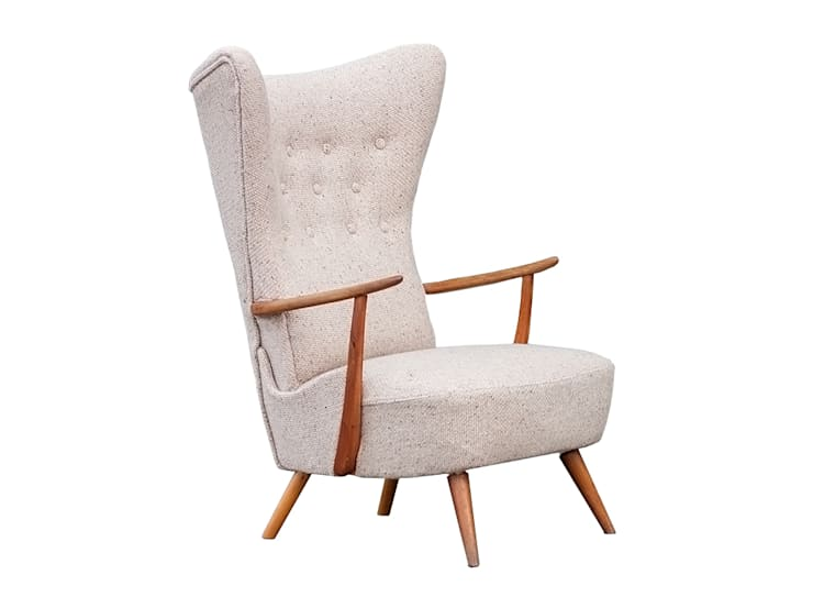 Fotel skandynawski lata 60te: styl , w kategorii Salon zaprojektowany przez Simply Modern