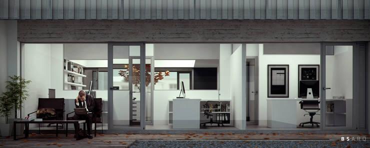 Estudio Bianchi + Faerman Arquitectos: Terrazas de estilo  por BS ARQ,Minimalista Concreto reforzado