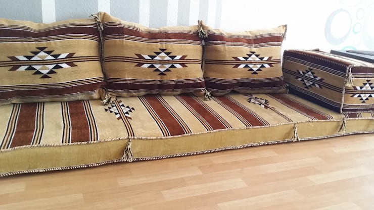 Orientalische Sitzecken Orientalische Sitzgarnitur 5 Teiliges Set