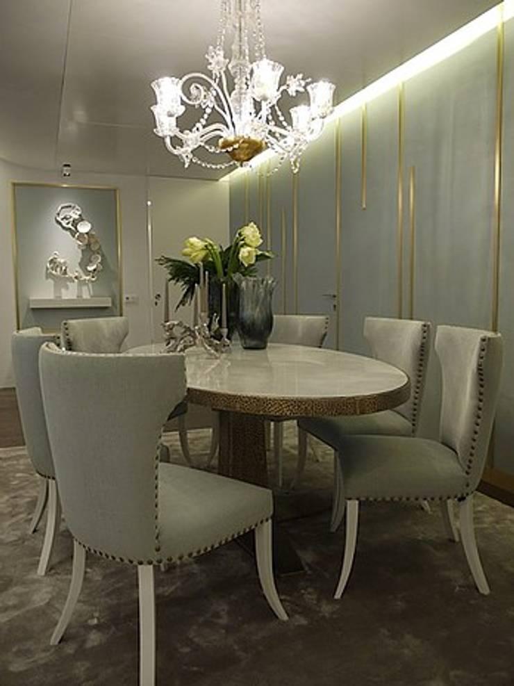 Apartamento Estoril: Salas de jantar  por Artica by CSS