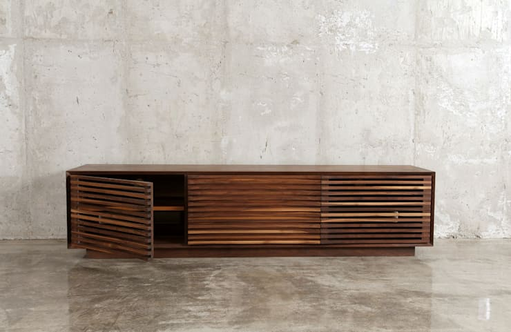 거실장 / curve sideboard: JEONG JAE WON Furniture 정재원 가구의  거실