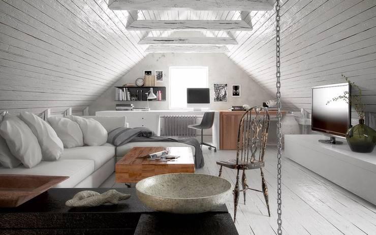 Vue interieur: Salon de style  par L'Atelier 2630