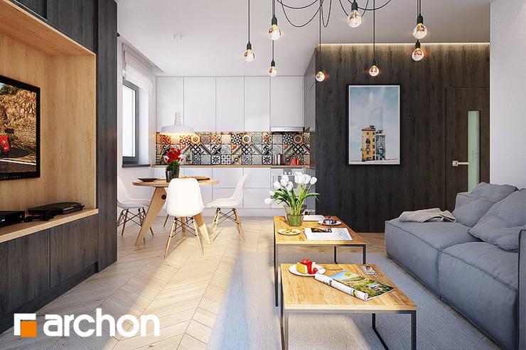 Stolik Doblo: styl , w kategorii  zaprojektowany przez ArchonHome.pl,Nowoczesny