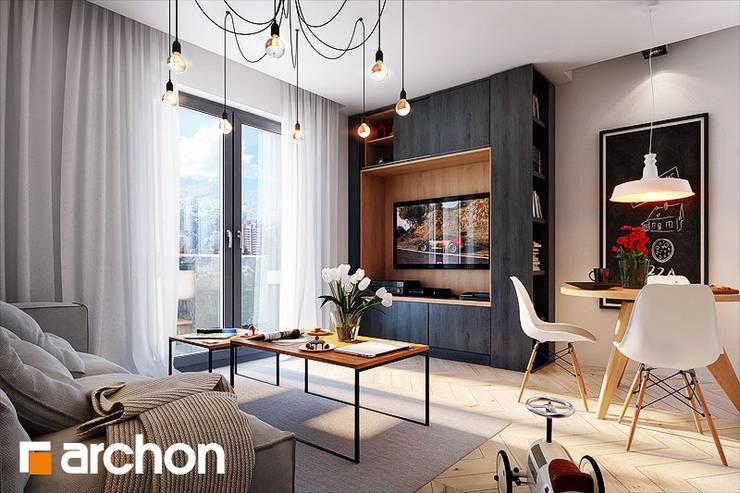 krzesło Norden: styl , w kategorii  zaprojektowany przez ArchonHome.pl,Nowoczesny