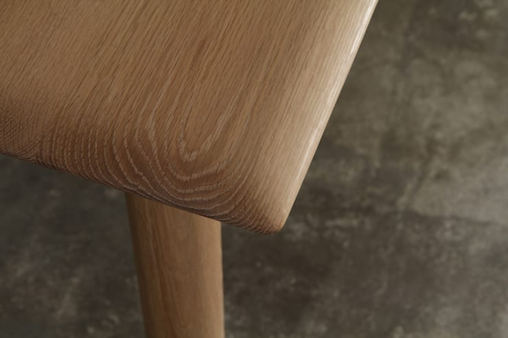테이블 / soft talble: JEONG JAE WON Furniture 정재원 가구의  다이닝 룸