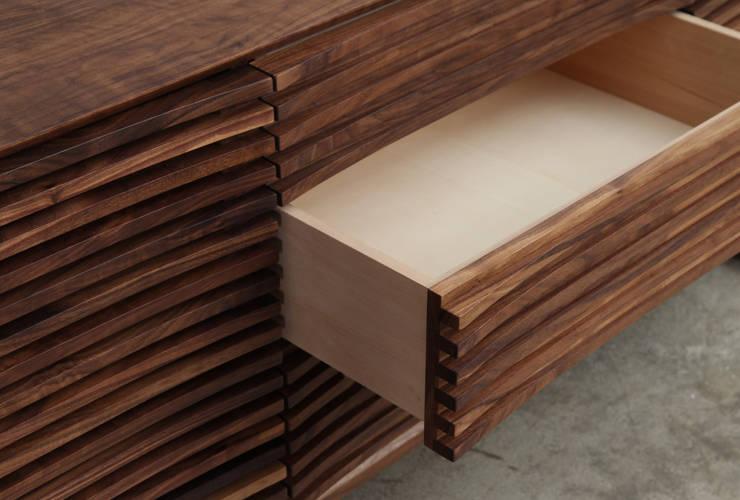 거실장 / curve sideboard: JEONG JAE WON Furniture 정재원 가구의  거실