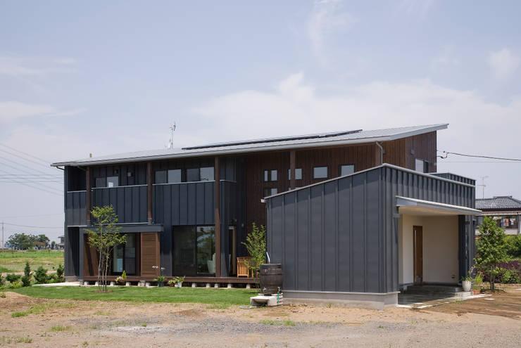 Деревянные дома в . Автор – 空間設計室/kukanarchi