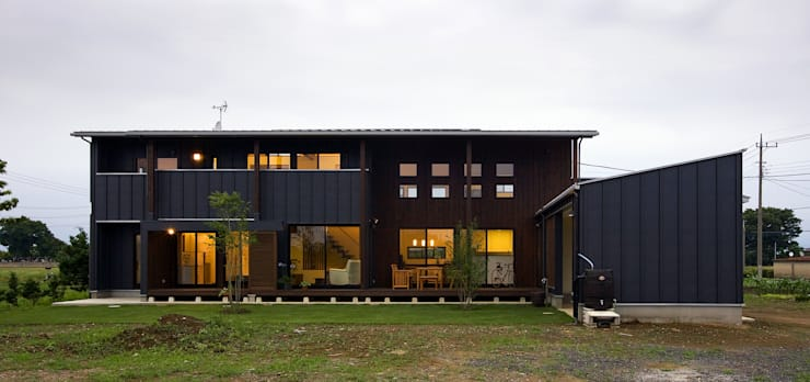 Дома в . Автор – 空間設計室/kukanarchi