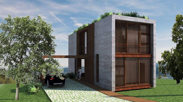 Chalets Design: Casas campestres por Atelier O'Reilly Architecture & Partners