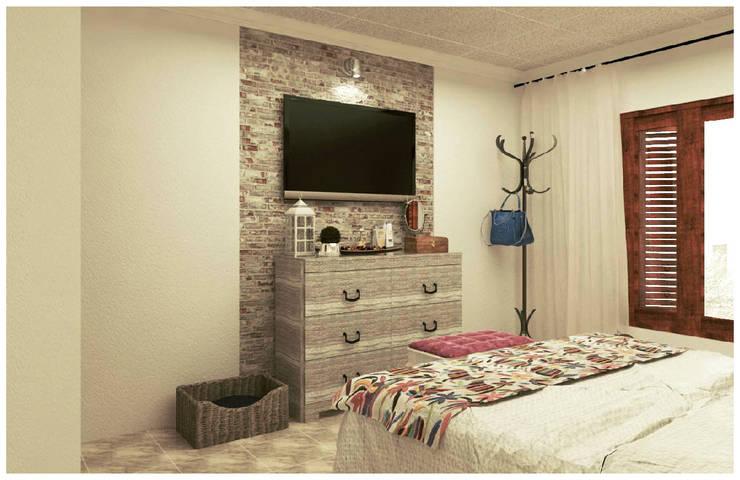 Re decorando una Habitación : Comedores de estilo  por VI Arquitectura & Dis. Interior