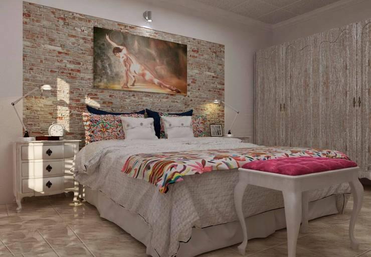 Re decorando una Habitación : Dormitorios de estilo clásico por VI Arquitectura & Dis. Interior